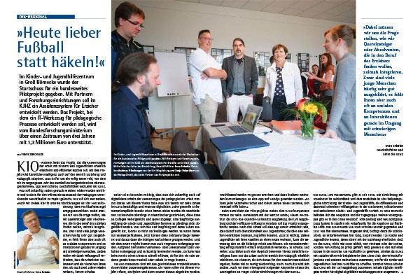 """Bericht in der IHK-Zeitschrift """"Der Markt in Mitteldeutschland"""" Ausgabe 9-2020"""